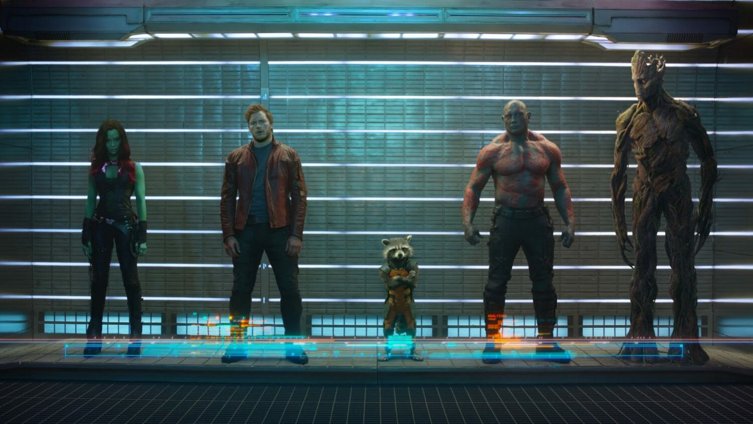 The top five feature films of 2014 - Guardians of the Galaxy
